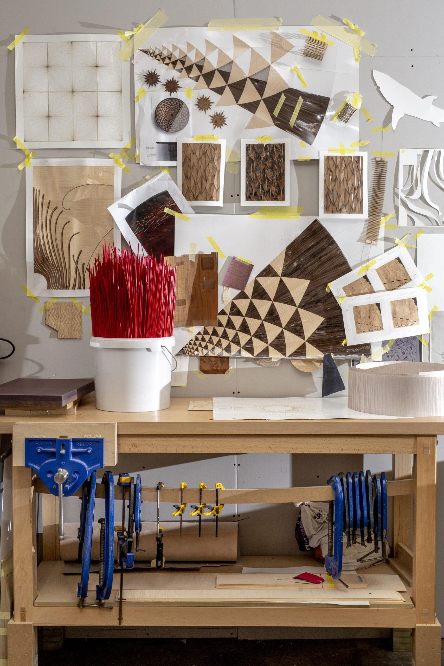 Furniture Craftsmanship Inspiration Board