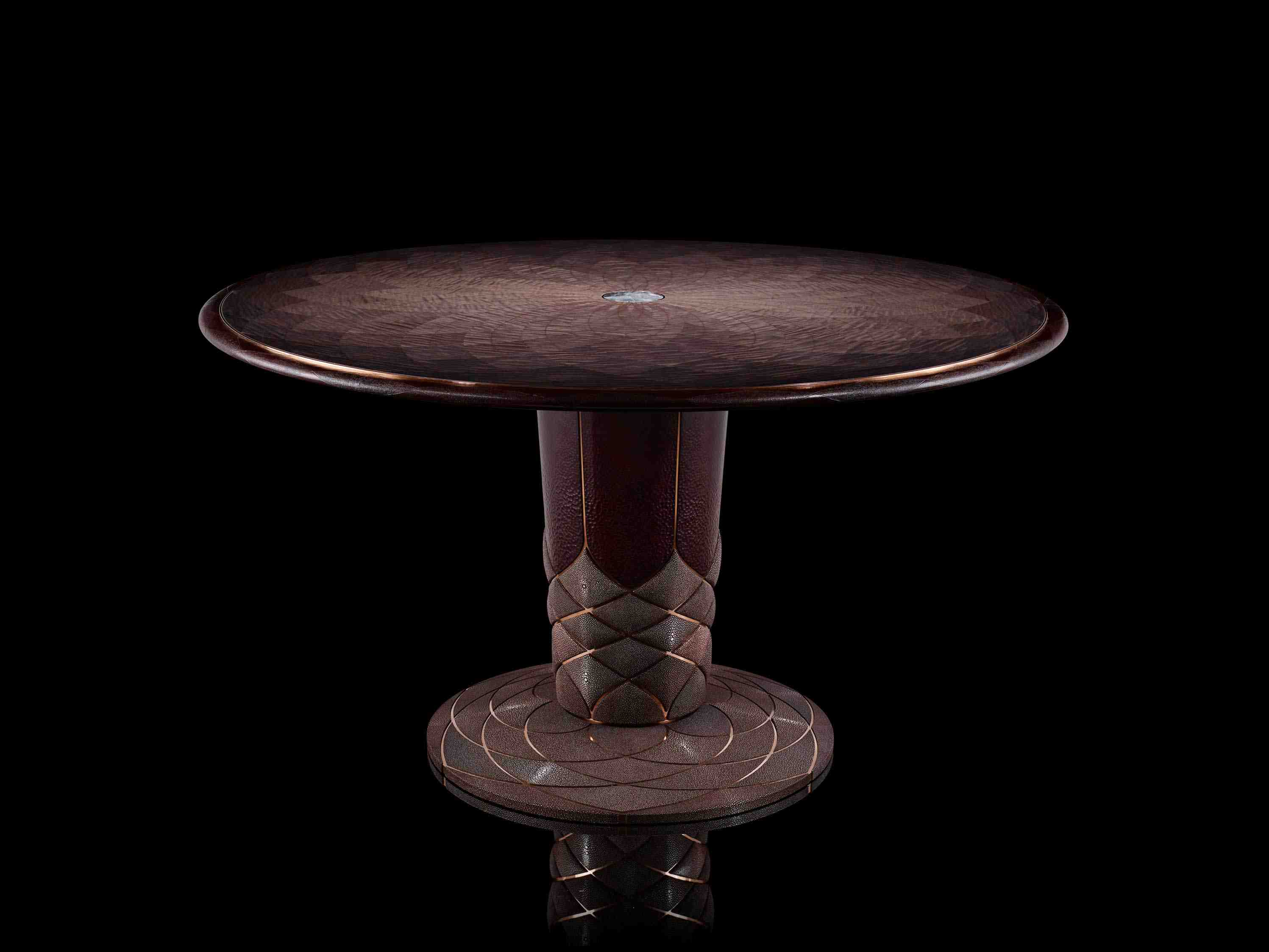 Silverlining Furniture Vaulted Echo Centre Table